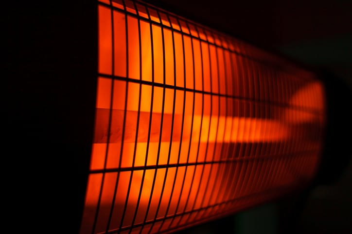 Halogeen infrarood terrasverwarming