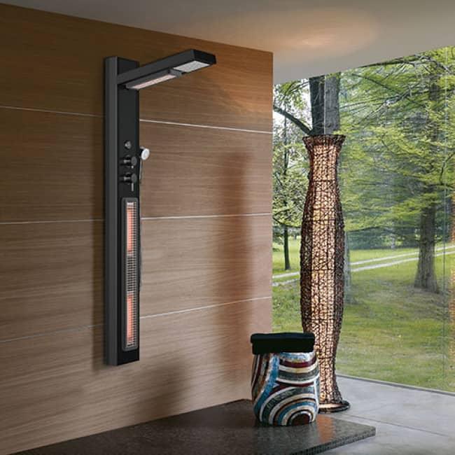 Een infrarood douche heeft vele voordelen (Infrarood Douchepaneel Valdessa Medisauna)