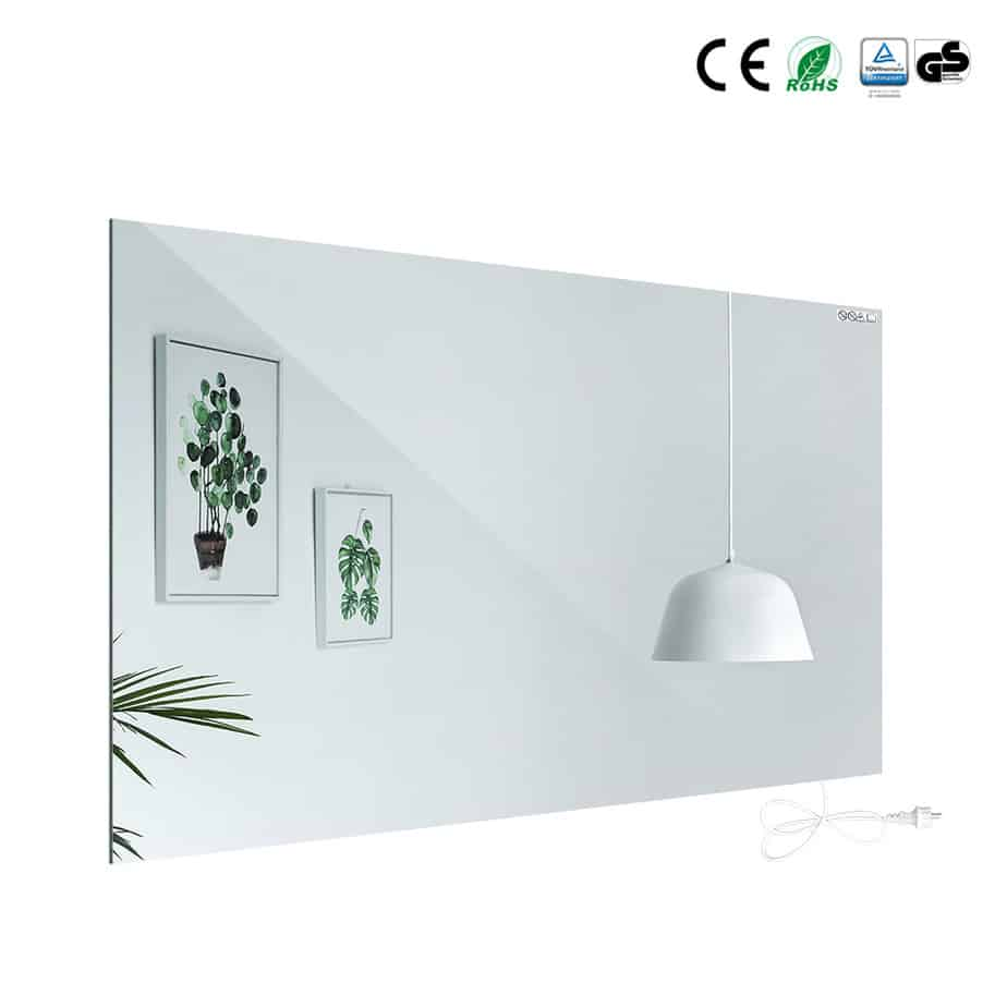 Spiegel met infraroodverwarming © Verwarminghandel