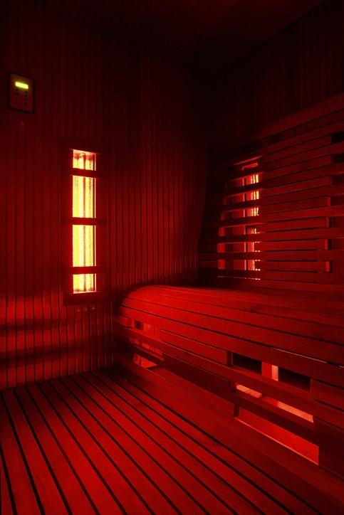 Hoe werkt een infrarood sauna?